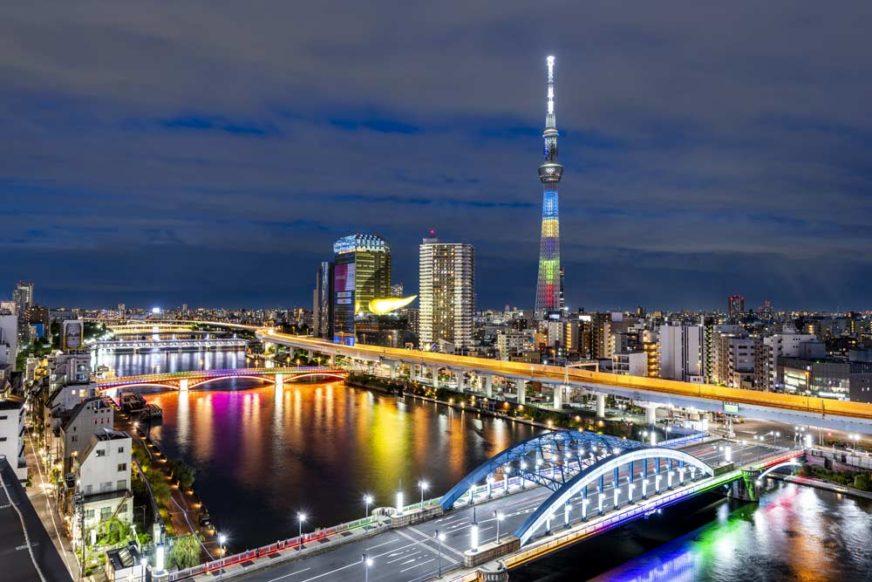 東京住宿夜景