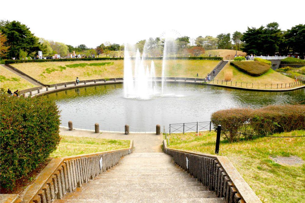 國營常陸海濱公園噴水舞台