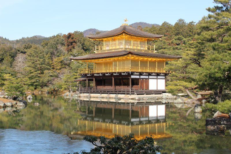 舍利殿與鏡湖池