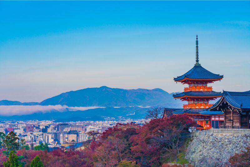 秋季的清水寺