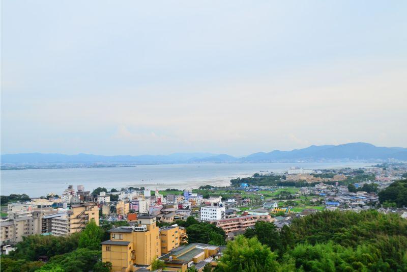 琵琶湖與雄琴溫泉