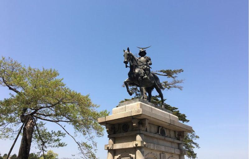 伊達政宗雕像