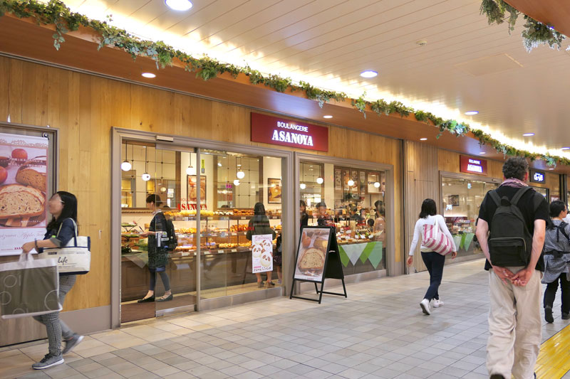 BoulangerieAsanoya店門口