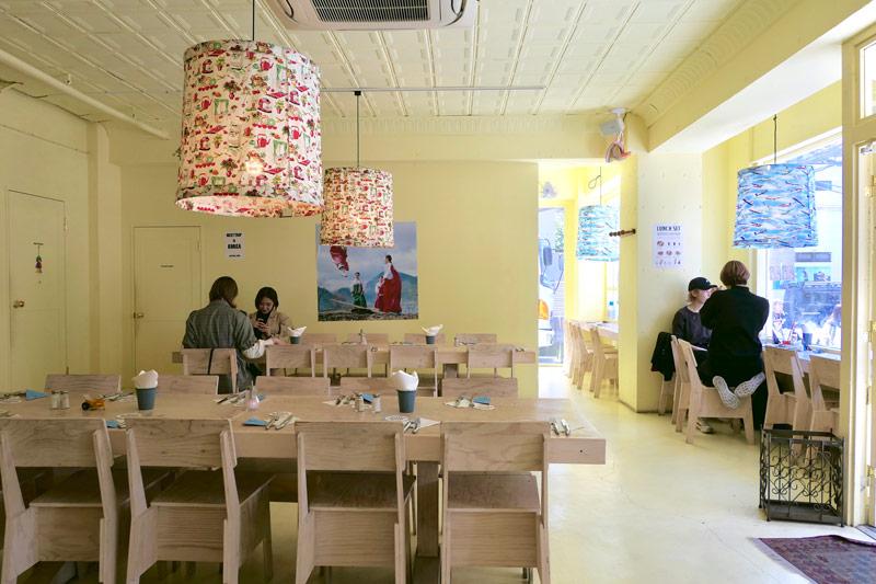 原宿分店餐廳景觀