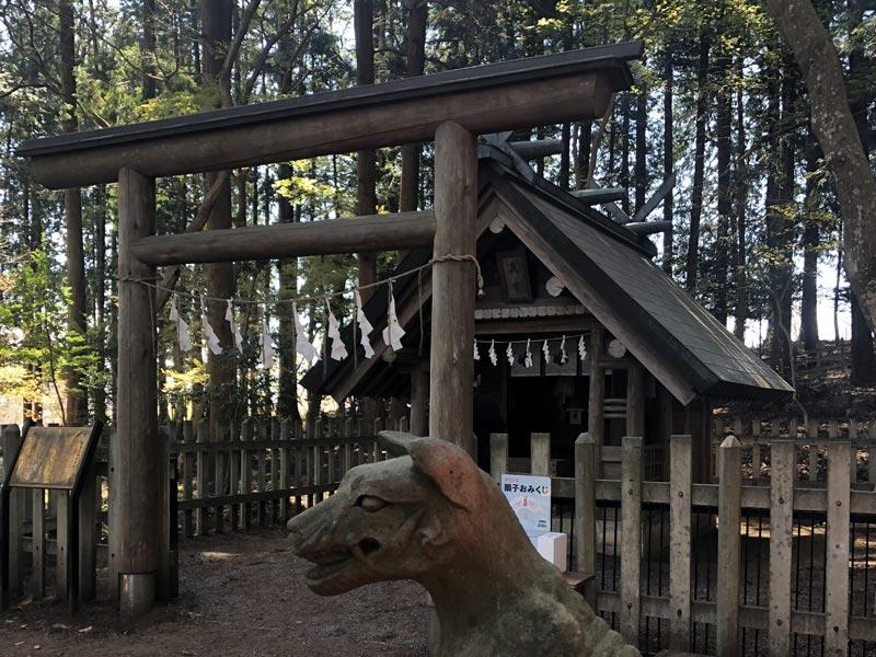 寶登山神社「奧宮」