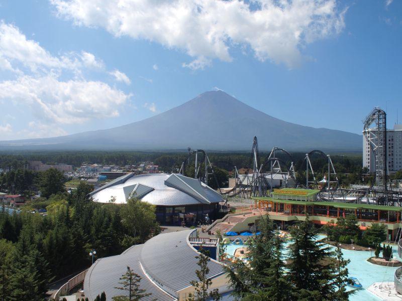 富士山與富士急樂園