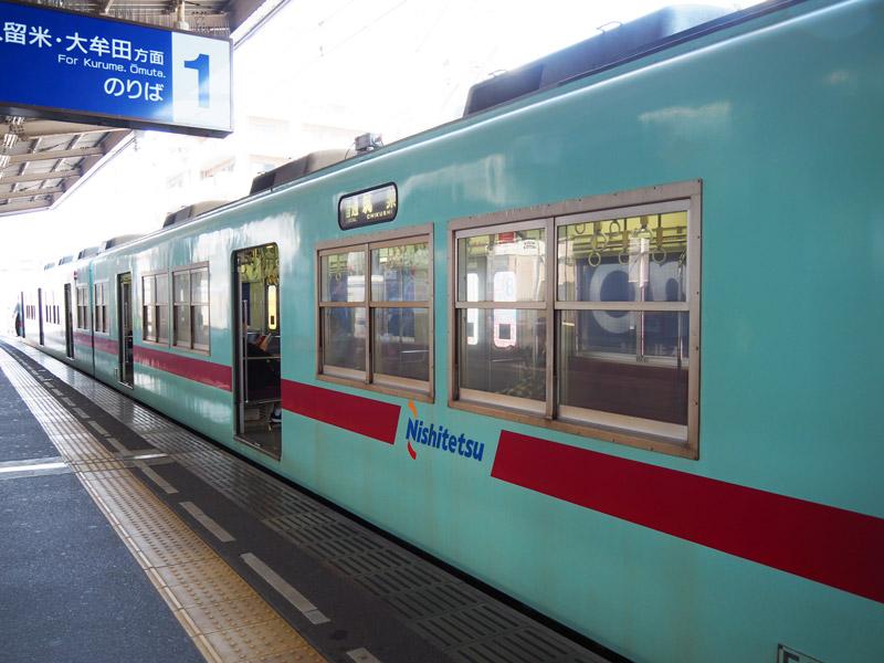 西鐵電車大牟田線車身