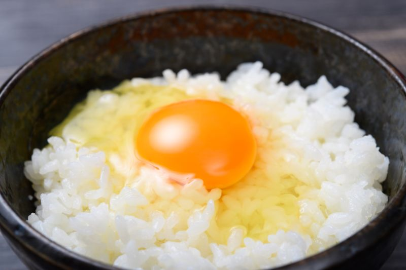 生雞蛋拌飯