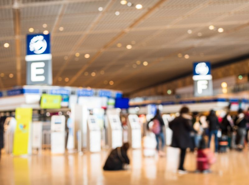 機場、旅行、出發示意圖