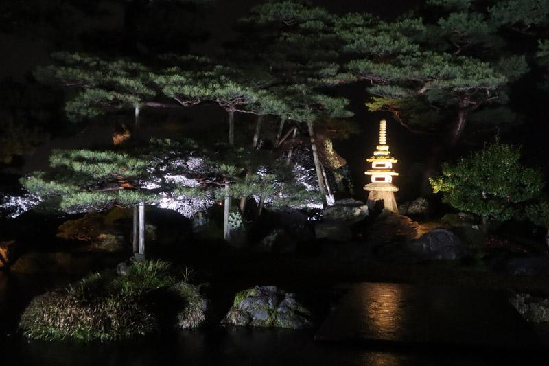 兼六園夜景