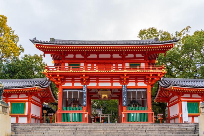 八坂神社的西樓門