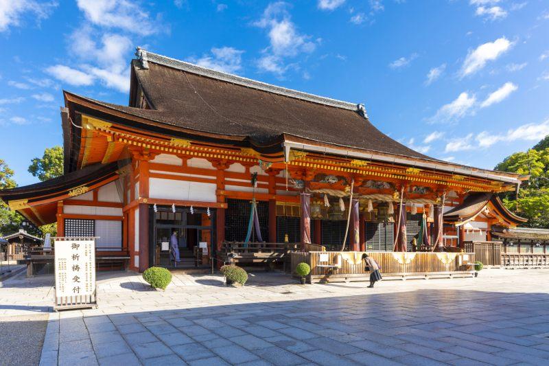 八坂神社的本殿