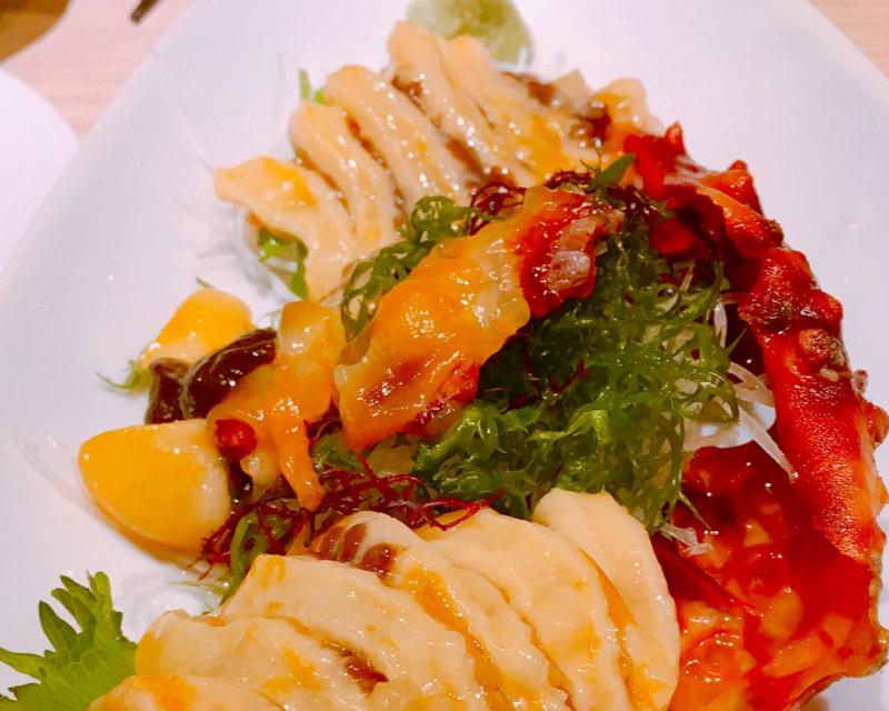 海鞘生魚片