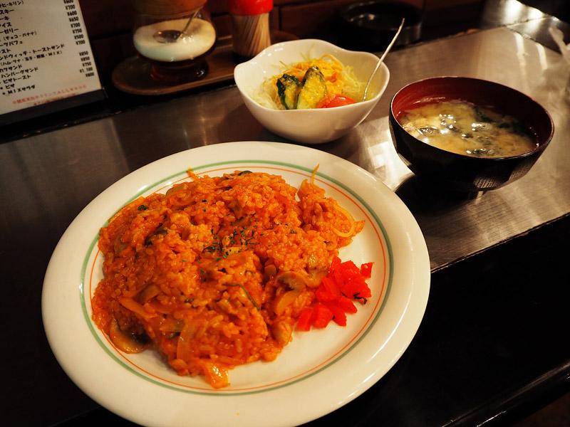番茄雞肉炒飯