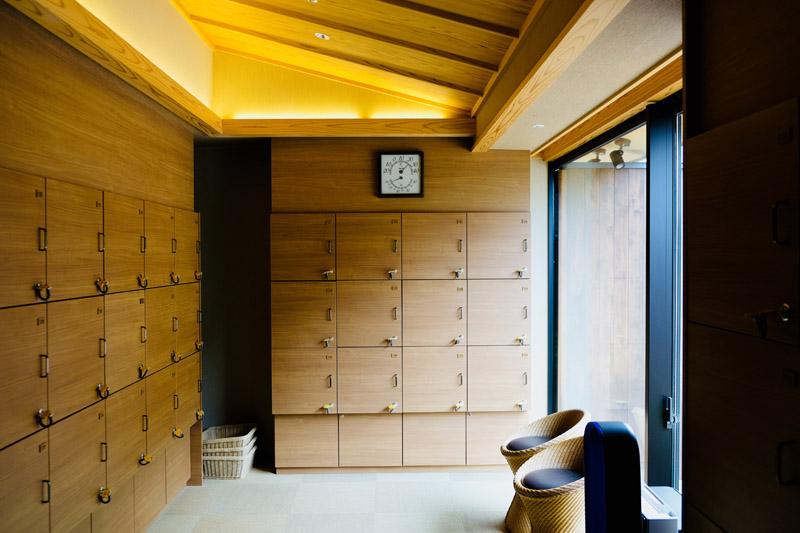 秀峰館大浴場「紅葉之湯」置物櫃