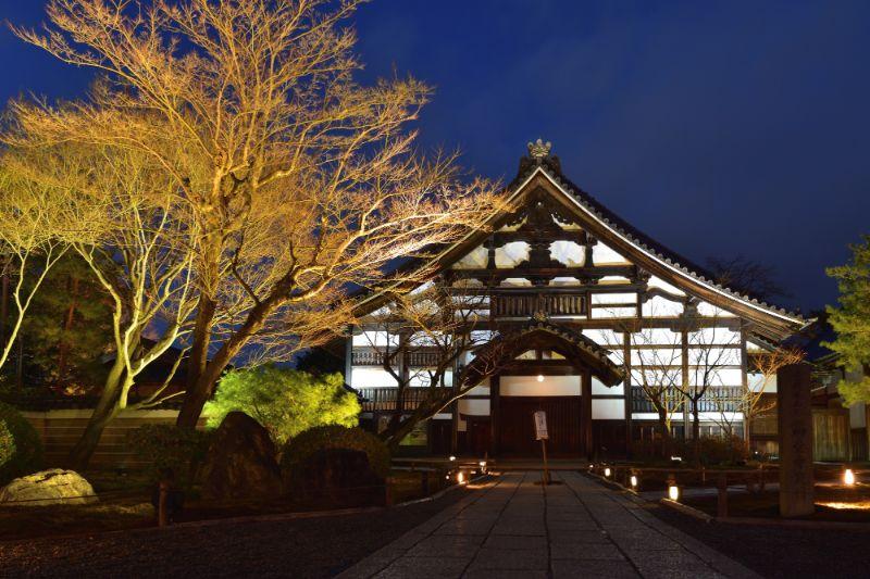 高台寺的夜景