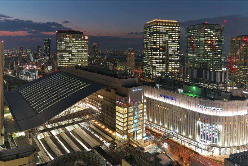 大阪市梅田之夜