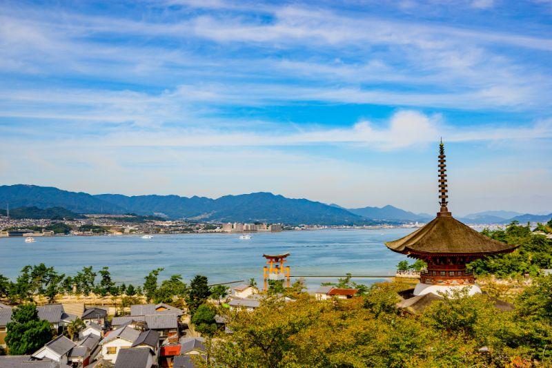 宮島的風景