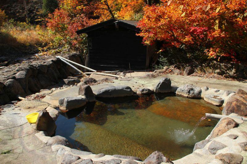 日本的秘湯 孫六溫泉