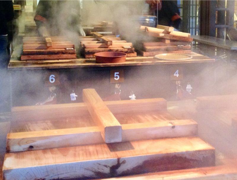 地獄蒸氣料理