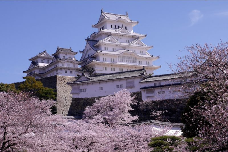 平成年間改建整修後的姫路城