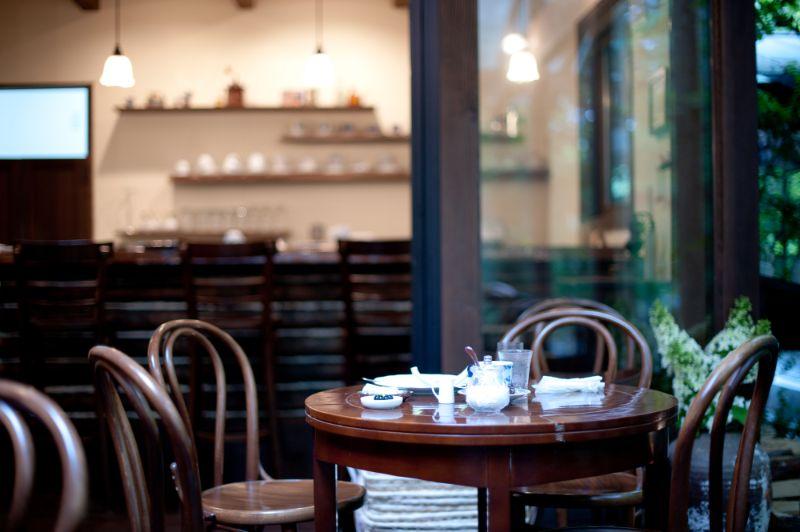 輕井澤的咖啡廳