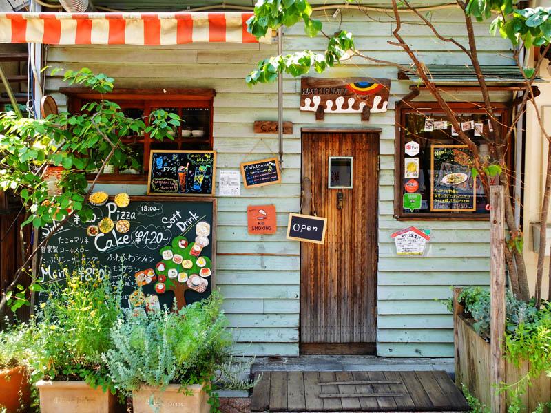 繪本咖啡店HATTIFNATT的外觀
