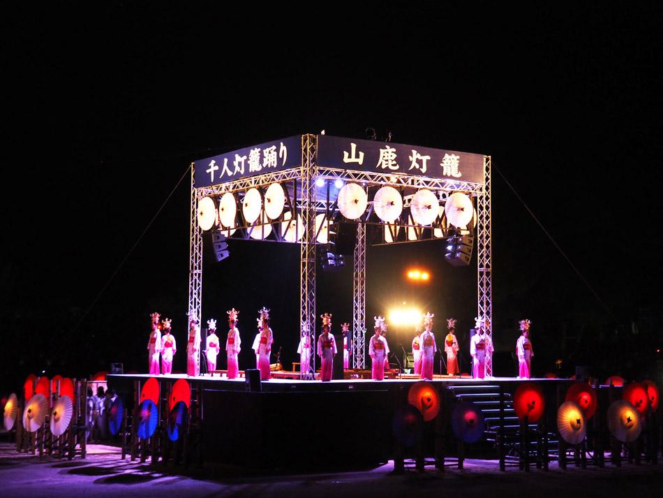 隱匿在熊本山林裡的千年夢幻祭典「山鹿燈籠祭」