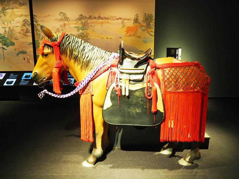 古代武士座騎設施