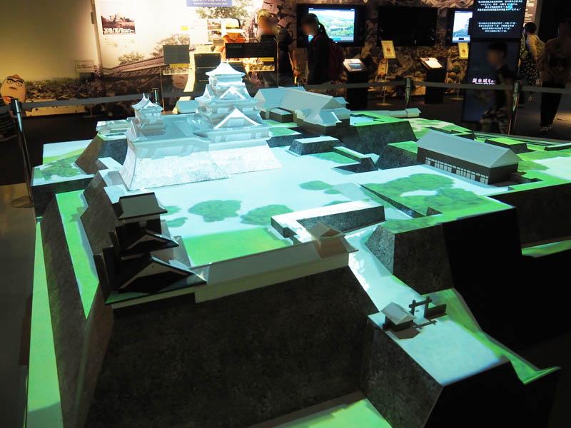 熊本城的3D模型再現