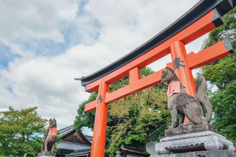 京都伏見稻荷的風景