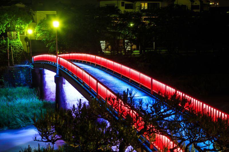 嬉野溫泉夜景
