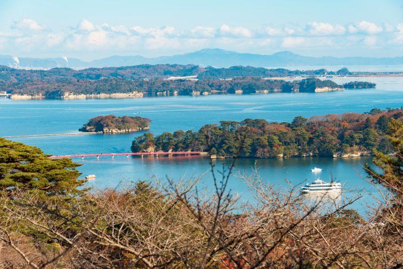 松島與觀光船