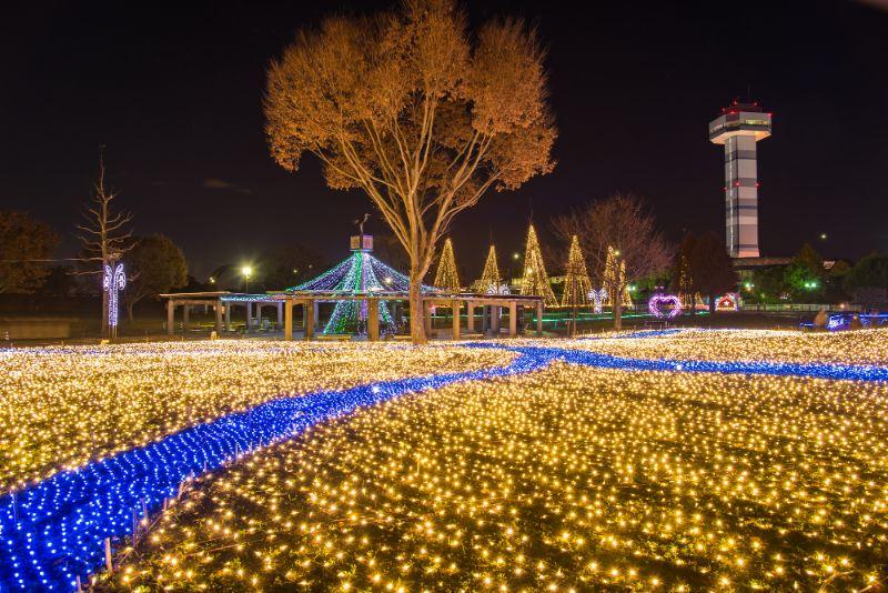 木曾三川公園燈飾