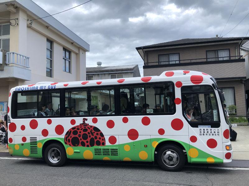 直島町營巴士時刻表