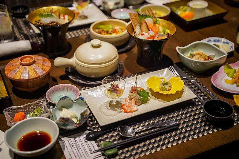 懷石料理晚餐——花小路
