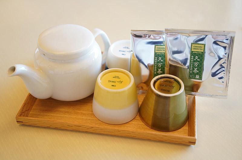 茶玻瑠9F行政日式房型——杯子