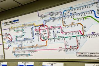 大阪站路線圖