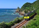 駛過日本海的山陰本線