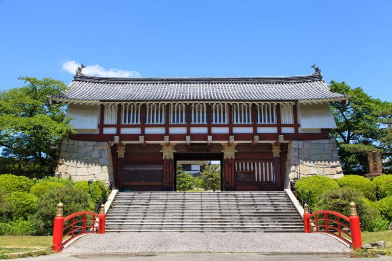 伏見桃山城的城門