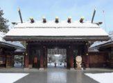 冬季的北海道神宮
