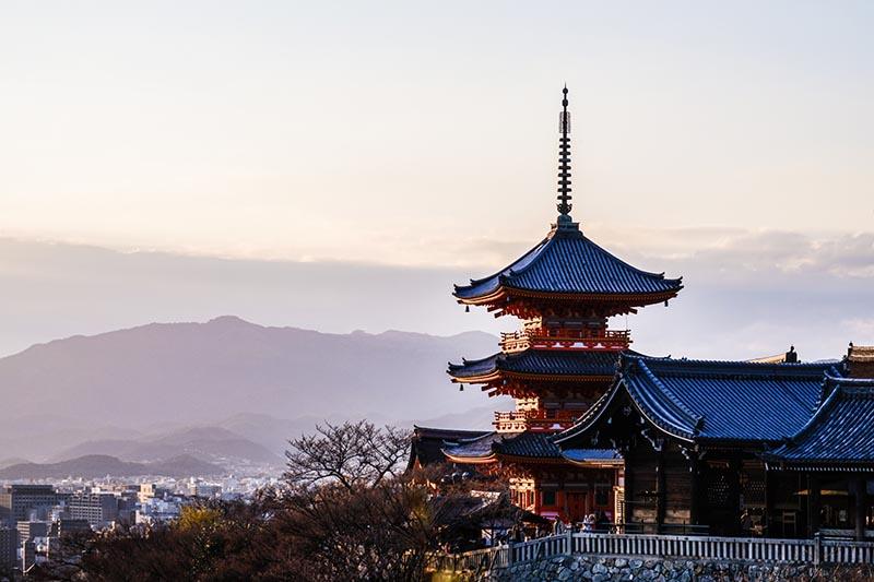 春天的京都與清水寺