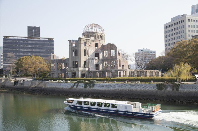 原爆圓頂館與水上巴士