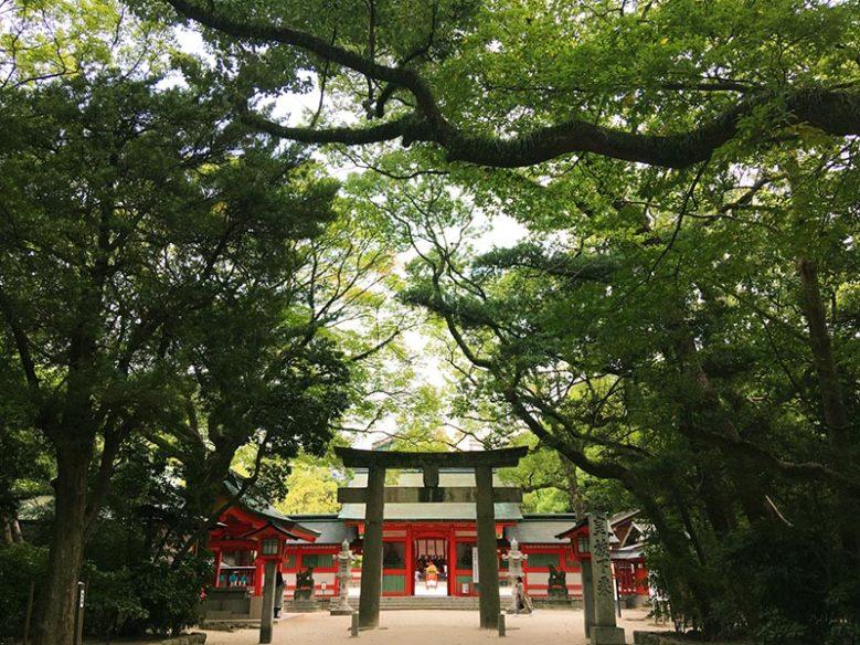 住吉神社的參拜道路