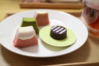 富士山的零食