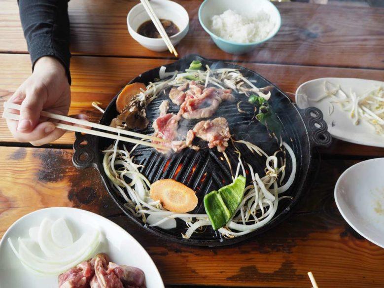 成吉思汗燒肉