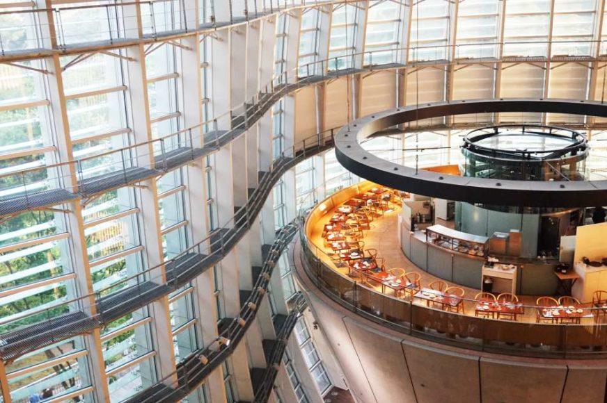 國立新美術館二樓咖啡店Salon de Thé ROND