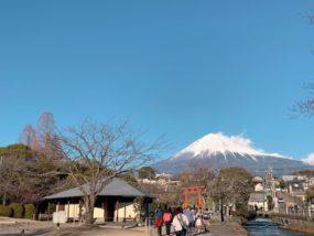 富士宮市觀賞富士山