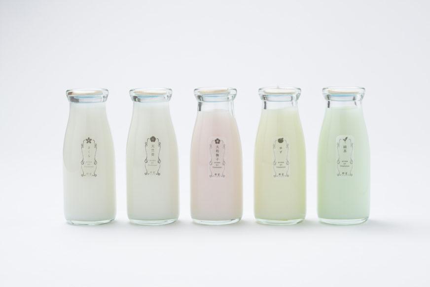 顏色粉嫩的牛奶瓶芳香劑5種味道