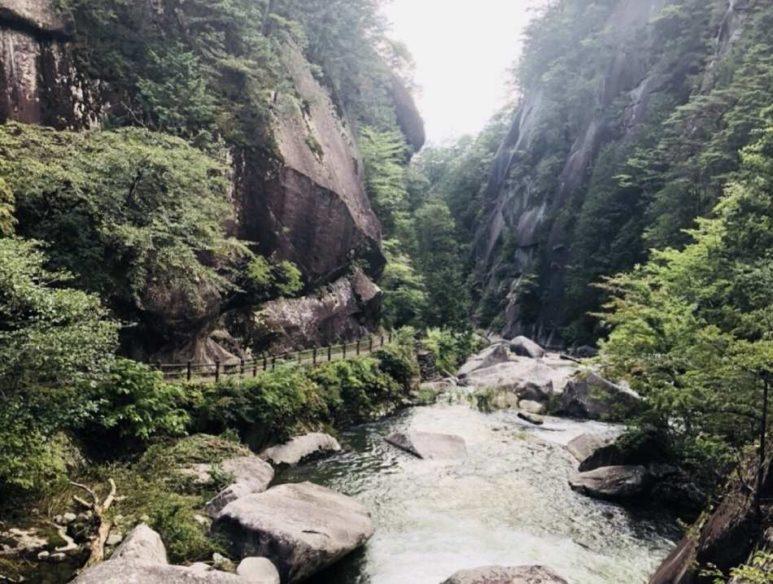 昇仙峽 景觀